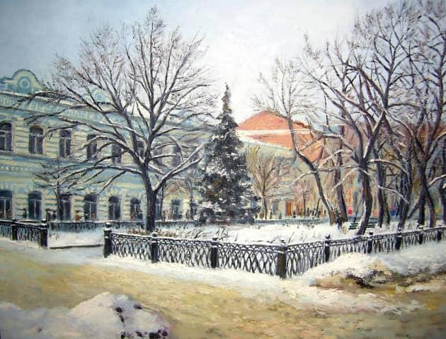 Бульвар на Гончаровской