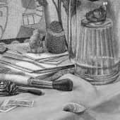 Зимний натюрморт (3), художник Евгенияя Соколикова
