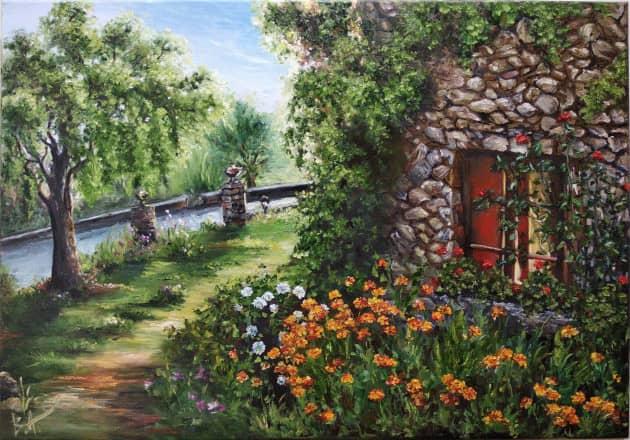 """""""Окно в сад"""""""