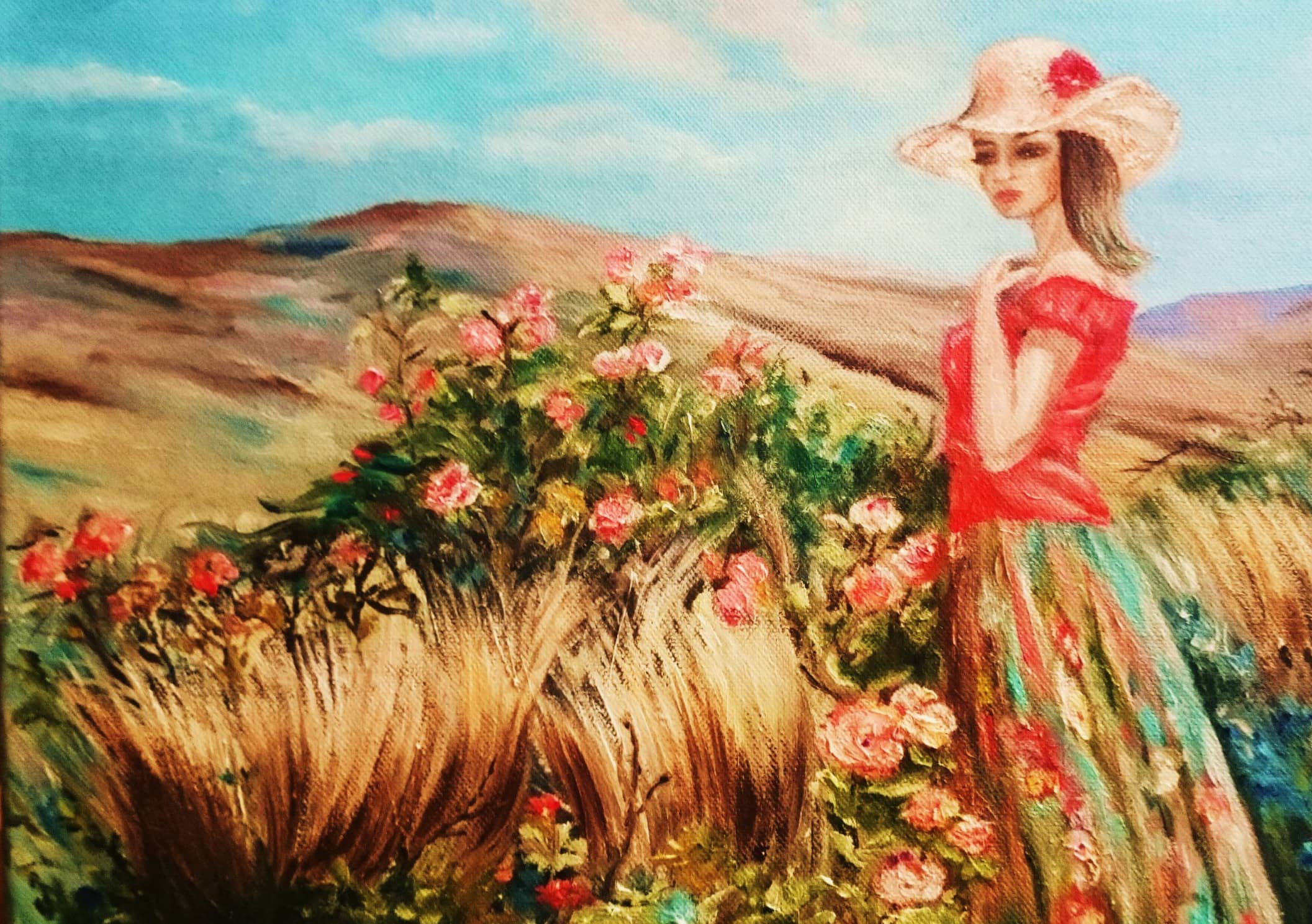 Вольная копия картины Михаэля и Инессы Гармаш