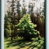 Деревце на краю леса (2), художник Валерий