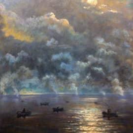 Поднимающийся туман на рассвете, сюжет 2