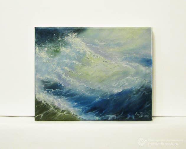 Море. (холст, масло)