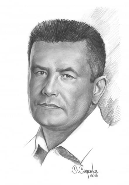 Портрет Н.Расторгуева