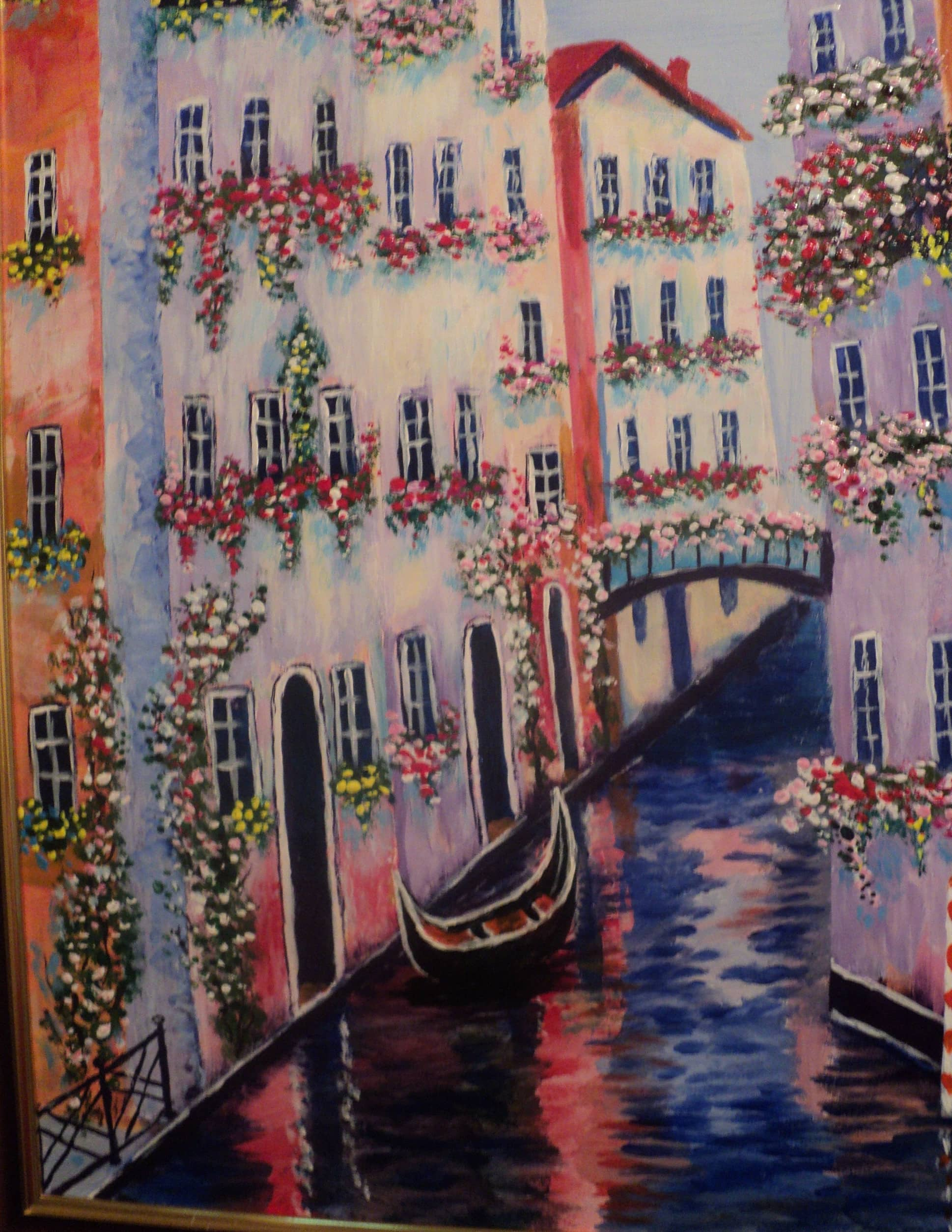 Венеция . Вечер.