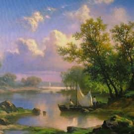 Копия картины Павла Джогина