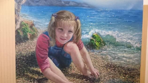 портрет на море