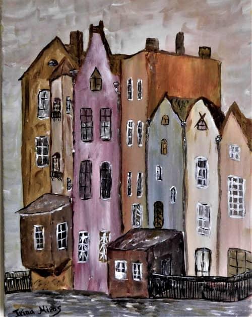 Память ушедших лет, художник Irina Mirosni