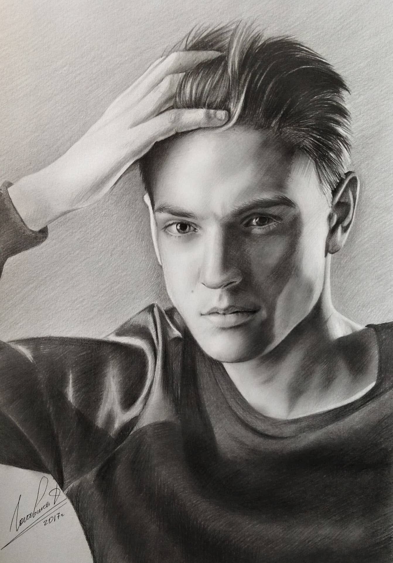 Портрет музыканта Андрея Леницкого