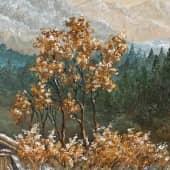 «Зимний день. Германия XVIII в.» (4), художник Валерия Азамат