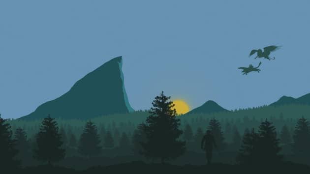 Утро леса