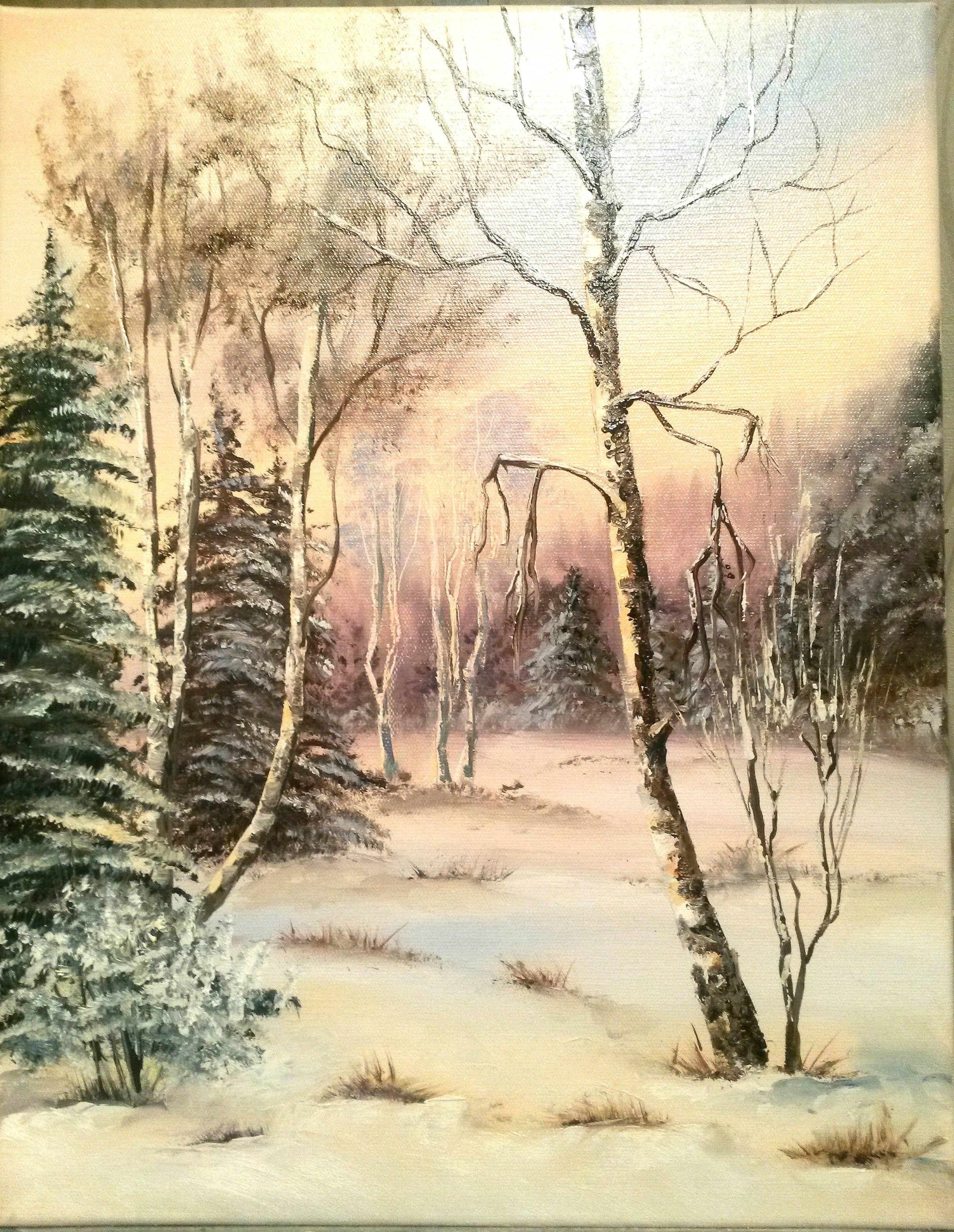 Зимний денек