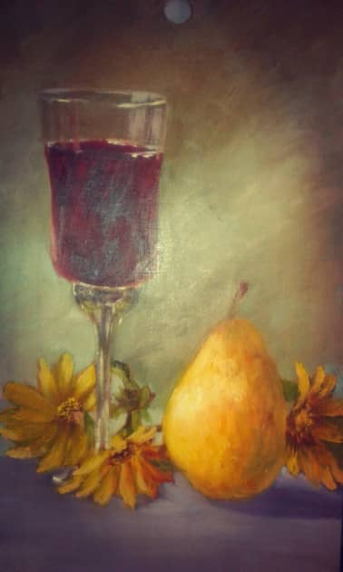 Вино и топинамбур
