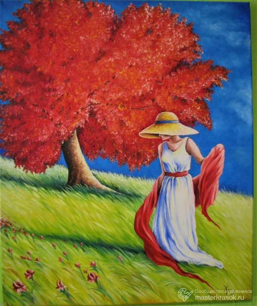 """Красное дерево"""