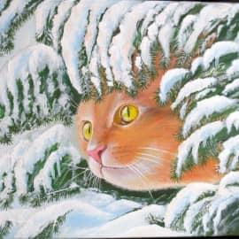 Снежный кот
