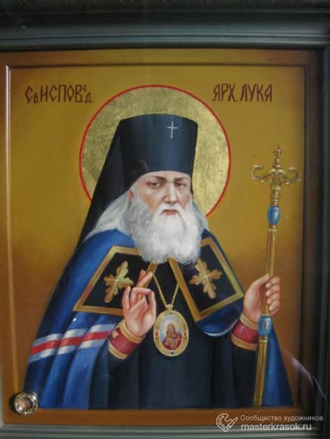 Икона - образ Святого Луки Воино-Ясенецкого