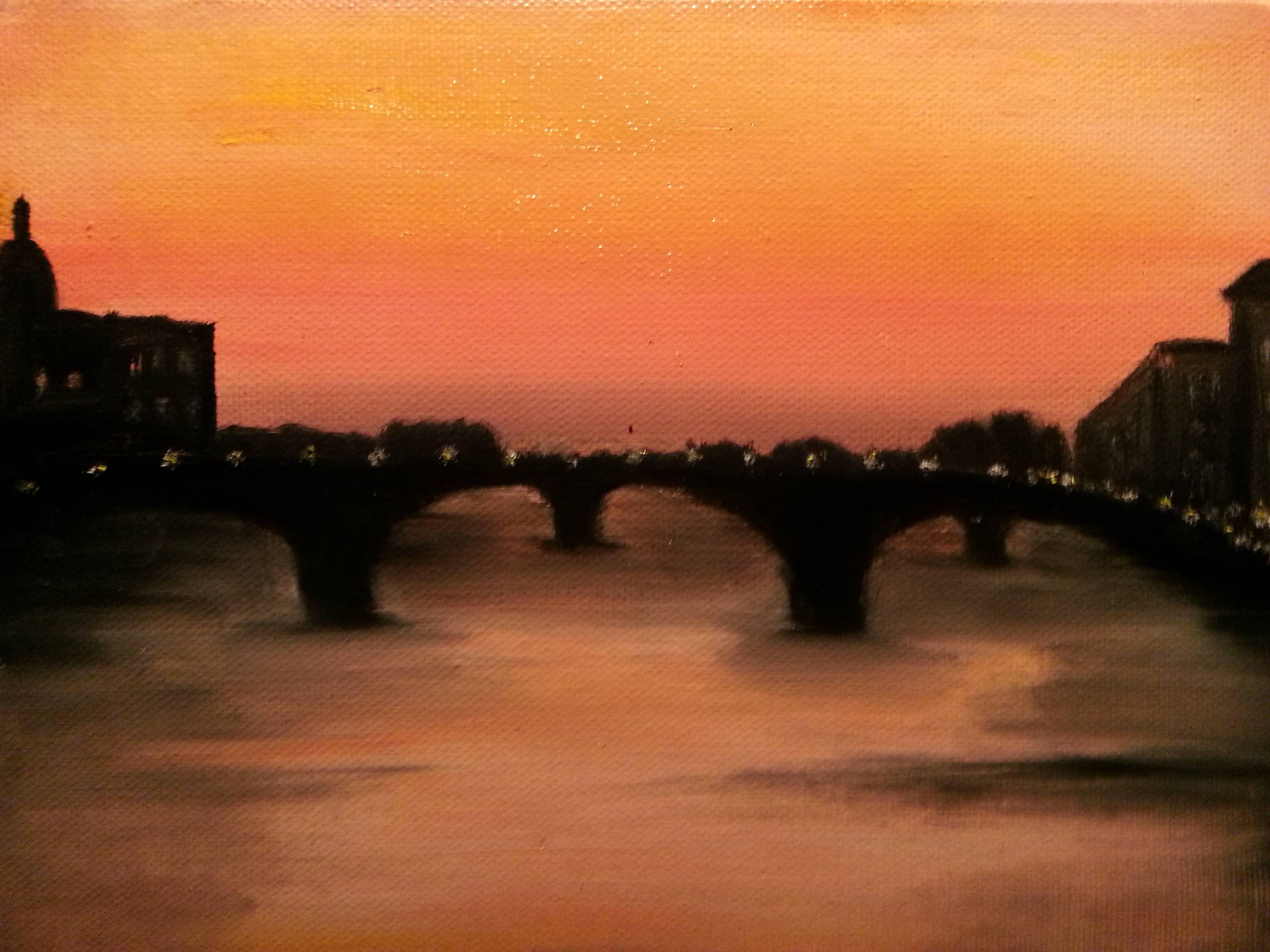 Закат во Флоренции