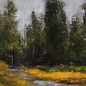 Ручей (2), художник Лариса Яркулова