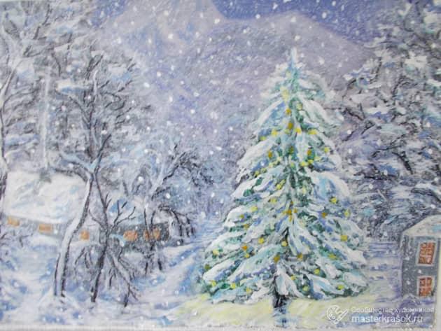 DSCN4137 Зимняя ночь