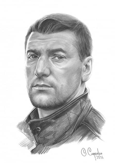 Портрет А.Устюгова
