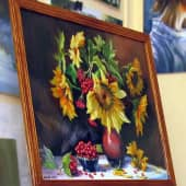 Букет подсолнухов (3), художник Валерий