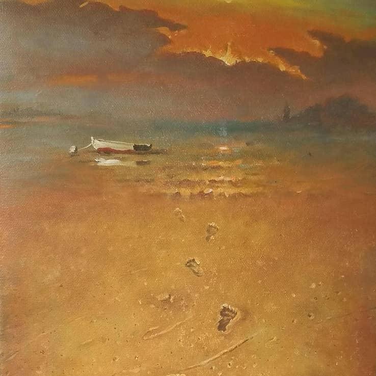 песочный пляж Ада Бояна Черногория
