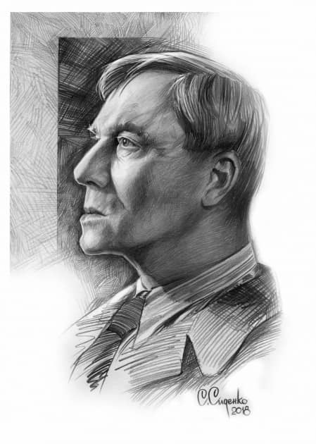 Портрет Б.Л.Пастернака