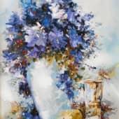 *цвеТОЧКИ* (2), художник Сергей Куценко