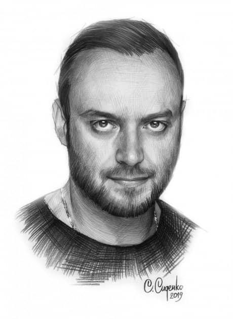 Портрет Максима Щёголева
