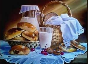 Пироги с вишней