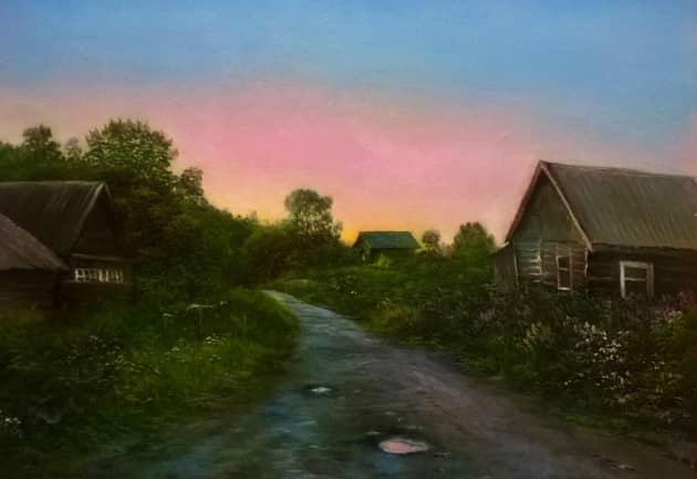 Псковская деревня