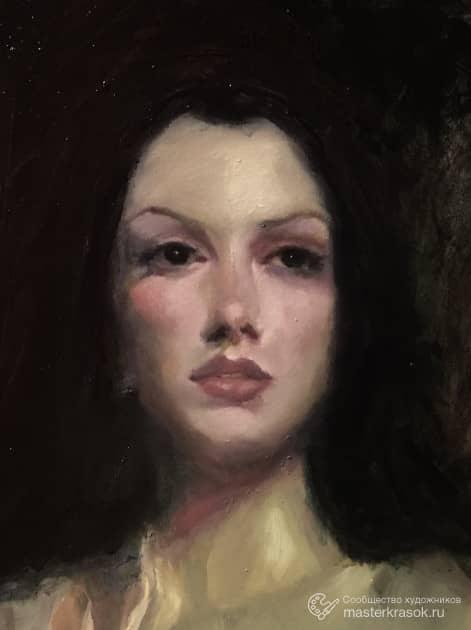Девушка, художник Русских Екатерина