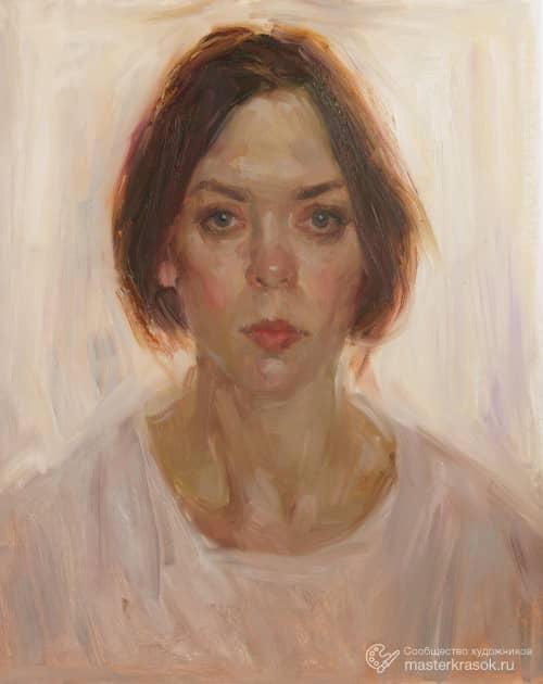 Автопортрет, художник Екатерина Блинова