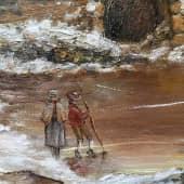 «Зимний день. Германия XVIII в.» (1), художник Валерия Азамат