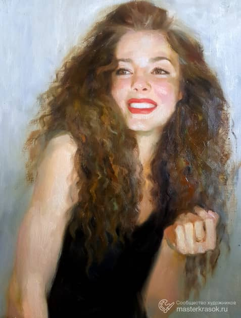 Дарья, художник Екатерина Блинова