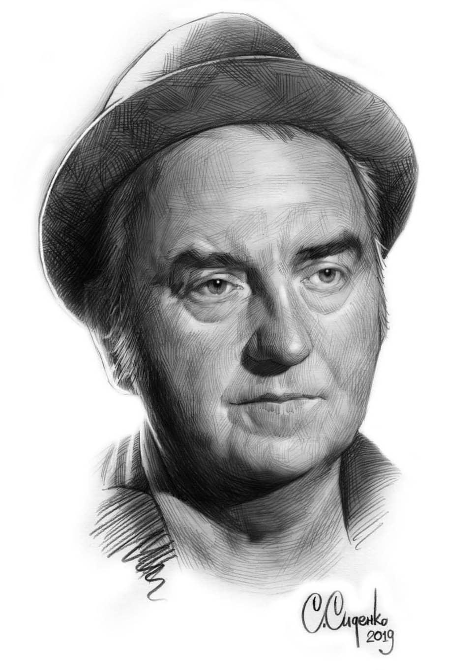 Портрет музыканта Владимира Шахрина