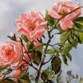 Розы (1), художник Лариса Яркулова