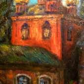 Провинциальный сюжет (Монастырь) (4), художник Александр
