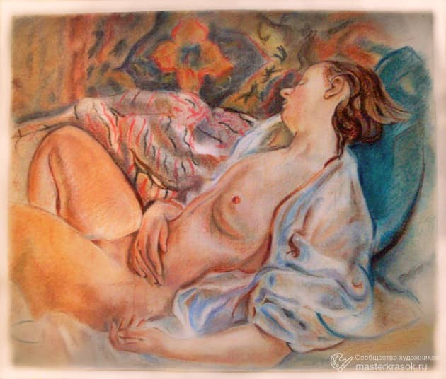 Копия картины З. Серебряковой.