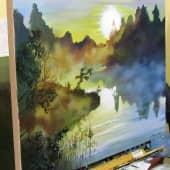 Рассвет (2), художник Валерий