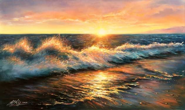 Краски вечернего моря