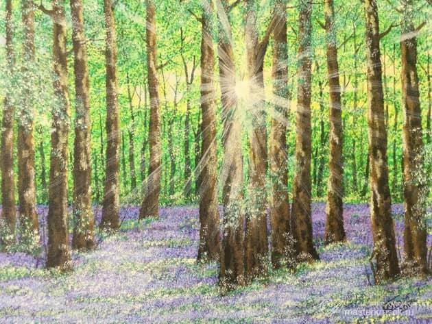 Цветущий лес