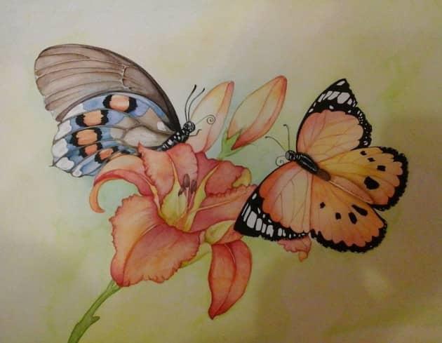 На крыльях весны