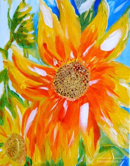 Кусочек Солнца, художник Irina Mirosni