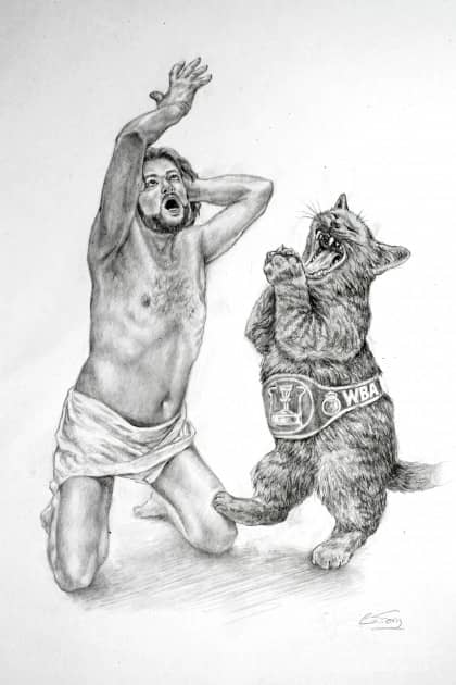 Дуэт солилоквии Левия Матвея с чемпионом в супертяжёлом весе по версии WBA
