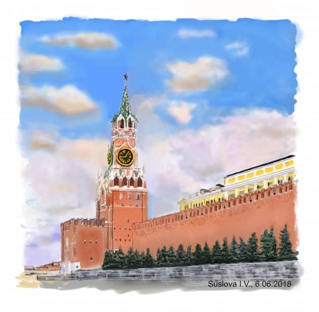 Кремль - сердце Москвы
