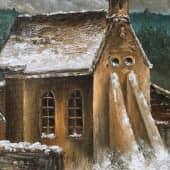 «Зимний день. Германия XVIII в.» (2), художник Валерия Азамат