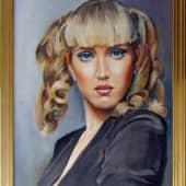 Портрет девушки (1), художник Валерий