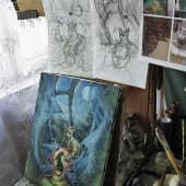 Иллюстрация к литературному произведению, сюжет 3 (1), художник Юрий Горбачев