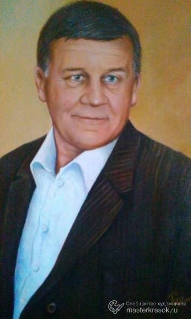 Портрет на заказ, художник РОМАН шакиров